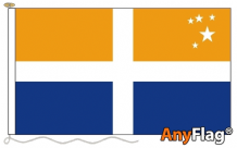SCILLY ISLES CROSS ANYFLAG RANGE - VARIOUS SIZES